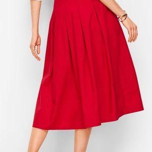 Talbots Skirts - Talbots POPLIN FULL SKIRT